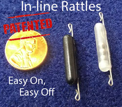 In-line Rattles -  2pk